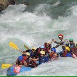 Team building & Leadership skills on fast flowing Ganges
