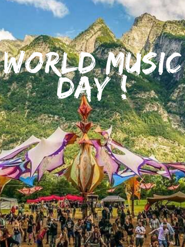 Celebrating World Music day