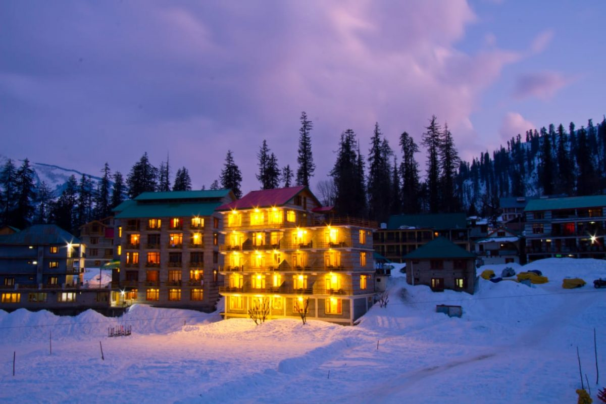 Hotel Adventure Valley at Ski Slopes of Solang